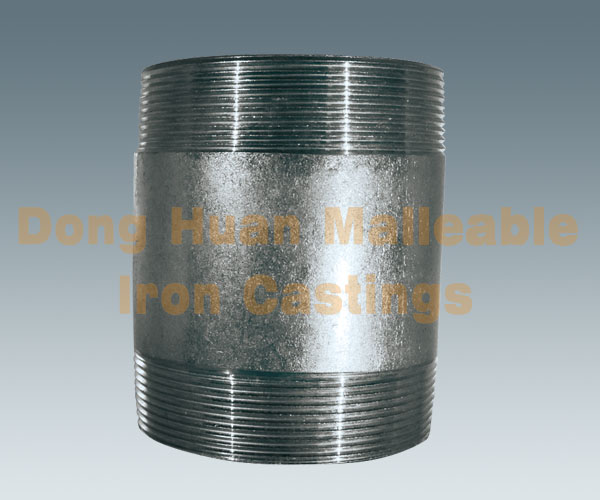 Carbon steel pipe nipple hot dip