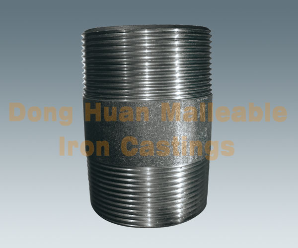 Carbon steel pipe nipple heavy type