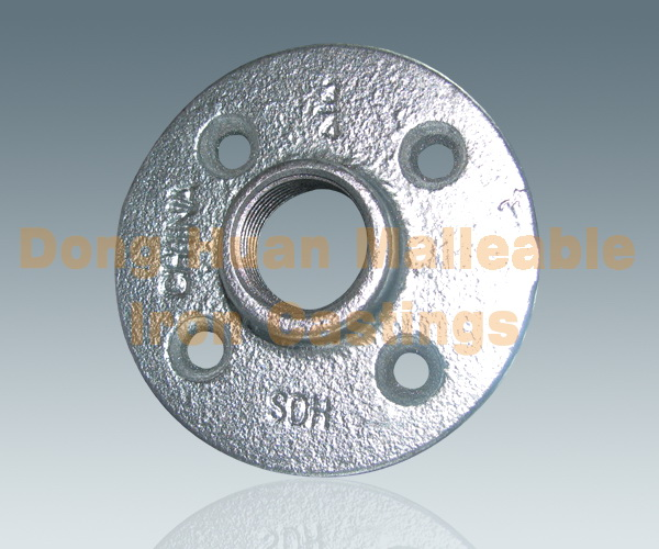 321Round flange with 4 bolt holes
